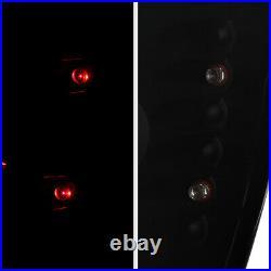 For 99-04 Jeep Grand Cherokee WJ WG SINISTER BLACK Smoke Tail Light Brake Lamp