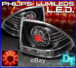 For Black 2001-2005 Lexus IS300 Lumileds LED Tail Lights Brake Lamps Left+Right