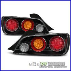 For Black 2004-2009 Honda S2000 AP2 FULL LED Tail Lights Lamps 04-09 Left+Right