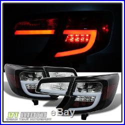 For Black 2012-2014 Toyota Camry Lumileds LED Bar Tail Lights Brake Left+Right
