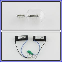 For Black Smoked 2014-2019 Toyota Tundra LED Tube Tail Lights Lamps Left+Right
