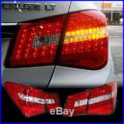 For CHEVROLET 2010 2014 Cruze Benz Style Trunk Rear LED Tail Light Lamp 4Pcs