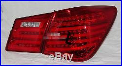 For Chevrolet Cruze 2009-2013 LED Tail Lights Rear Lamps Red Color -free ship
