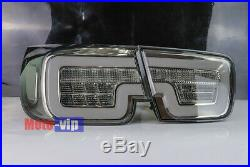 For Chevrolet malibu Dark / Red LED Rear Lamp Assembly LED Tail Lights 2013-2015