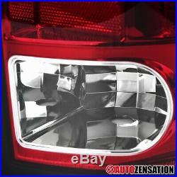 For Dodge 2009-2018 Ram 1500 2010-2018 Ram 2500/3500 Red LED Tail Brake Lights