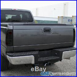 For Ford 97-03 F150 99-07 F250 F350 Smoke LED Tail Lights Tinted Brake Lamps