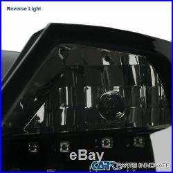 For Glossy Black 04-10 Scion tC Smoke LED Tail Lights Parking Rear Brake Lamps