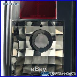 For Hummer 05-10 H3 LED Smoke Lens Tail Lights Tinted Brake Stop Rear Lamps Pair
