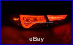 For Hyundai Elantra Sedan 2011-2013 LED Rear Tail Lights Brake Lamps Assembly