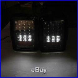 For Jeep Wrangler JK 08-18 7 LED Headlight + Fog Light + Tail Lights Lamp Kit