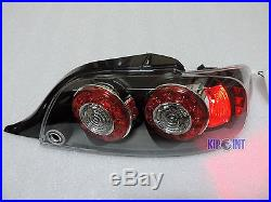 For Mazda RX8 2004-2008 LED Tail Lights Rear Lamps Black Housing Clear JDM