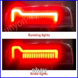 For Nissan Frontier 2005-2020 Smoke LED Rear Brake Tail Lights Lamps Pair L+R