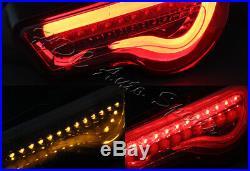 For Scion FRS FT86 Subaru BRZ DRL Smoke Housing / Smoke Lens LED Tail Light Lamp