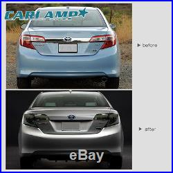 For Toyota Camry 2012-2014 LED DRL Headlights & Smoked Black Tail Lights