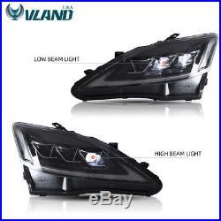 Full LED Projector Headlights For LEXUS IS250 350 ISF 2006-2012 Headlights
