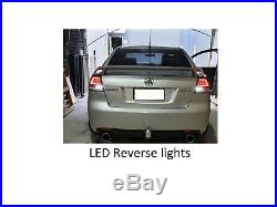 Full LED Tail Lights for Holden Commodore VE SSV SS SSV Dynamic LED Indicators