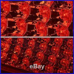 Full Ledfor 00-06 Suburban Tahoe Yukon XL Tail Light Brake Parking Lamp Red