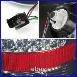 Full Ledfor 02-06 Dodge Ram 1500 2500 3500 Tail Light Rear Brake Lamp Smoked