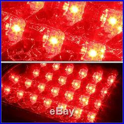 Full Ledfor 02-06 Dodge Ram 1500 2500 3500 Tail Light Rear Stop Brake Lamp Red