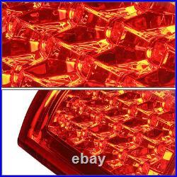 Full Ledfor 99-03 Chevy Silverado Gmc Sierra Tail Light Rear Brake Lamp Red