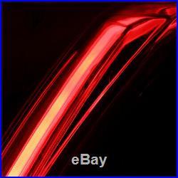 Full Size TRON LED BAR 3D Neon Tube Tail Light for 07-14 Cadillac Escalade/ESV