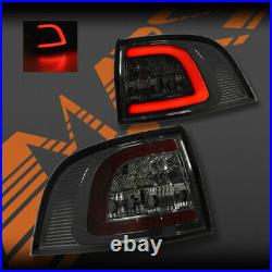 Full Smoked LED Tail lights for Holden Commodore & HSV VE VF 5 doors Wagon