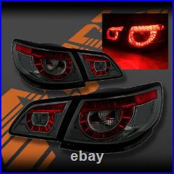 Full Smoked LED Tail lights for Holden Commodore VF 4 doors Sedan & Chevrolet SS
