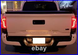 Full Taillight Lamps withLED Reverse Light Replacement Bulbs Kit For 16-21 Tacoma