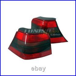 Für VW Golf 4 IV R32 Rückleuchten Heckleuchten SET Rot & Schwarz 25 Jubi GTI