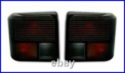Für VW T4 IV 1990-2003 Heckleuchten Rückleuchten Links + Rechts Schwarz Smoke