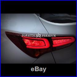 Genuine LED Tail Lights Rear Lamps For Hyundai Santa Fe Sport 20132017