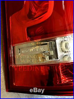 Genuine Mercedes-Benz LH LED Tail Lamp New 2015 Vito WDF447 BNIB
