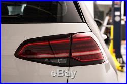 Genuine VW Golf 7.5 MK7 LED Dynamic Tail Lamps Lights Tinted EU Golf R Version