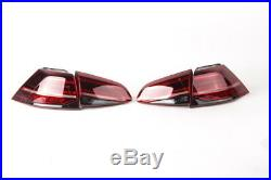 Genuine VW Golf MK7 R LED Dynamic Tail Lamps Lights Tinted tailights