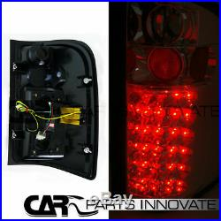 Glossy Black 07-14 Silverado Halo LED Projector Headlights+Smoke LED Tail Lamp