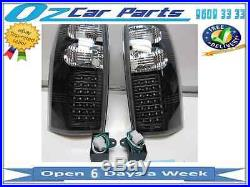 Holden Commodore VT VX VU VY VZ Ute Wagon LED Altezza Taillights BLACK LED NEW