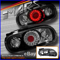 JDM Black Altezza LED Tail Lights for MAZDA MX-5 NA 89-98 Taillight MIATA