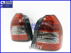 JDM Clear Red LED Tail light for 96-01 Honda Civic EK Hatch Vti