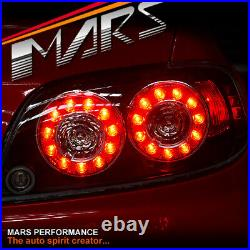 JDM FE 2 Style Black LED Tail Lights for MAZDA RX-8 FE Series 1 2004-2008