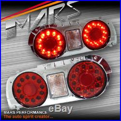 JDM LED Tail Lights for Nissan R32 Skyline Coupe GTS-T GT-R GT4 RB250DET Trubo