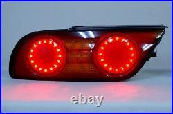 JDM LED Tail Lights for Nissan Silvia S13 180SX 200SX 240SX Hatchback Fastback