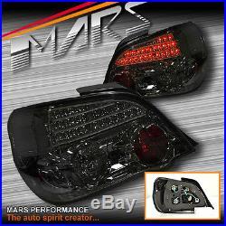 JDM Smoked LED Tail Lights for Subaru Impreza GD 03-07 4dr WRX STi RX RS S GX RV