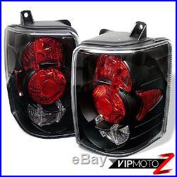 Jeep Grand Cherokee 93-98 1PC Black LED Headlight+Altezza Tail Lamp Brake Light