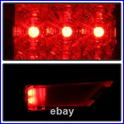 JetBlack LED 09-14 Ford F150 Styleside Lumileds Tail Lights Lamp Pair Left+Right