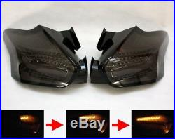 LED BAR RÜCKLEUCHTEN TAILLIGHTS f. FORD FOCUS MK3 ST BLACK SEQUENTIAL INDICATION