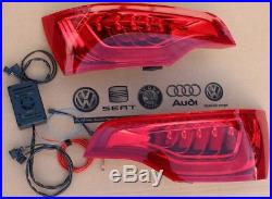 LED Facelift Rückleuchten Set Heckleuchten für Audi Q7 4L + Adapter Plug & Play