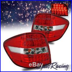 LED For 2006-2009 Mercedes Benz W164 ML-Class ML320/ML350 Red Lens Tail Lights