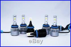 LED Headlights Fog Lights Combo for Holden RG Colorado LTZ Storm Z71 MY17 -MY19