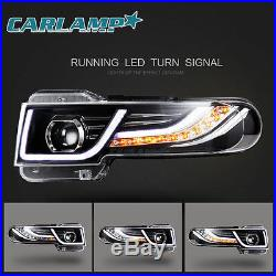 LED Headlights & Tail Lights & Grille For Toyota FJ Cruiser 2007-2014 Projector