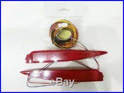LED Rear Bumper Reflector Light Lamp Set for kia 2009-2013 Cerato FORTE KOUP